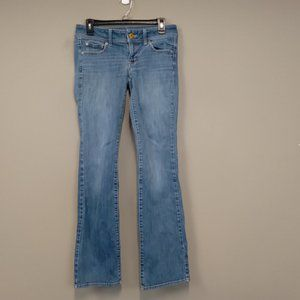 American Eagle Stretch Boot Cut Jeans Size 6 Long